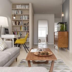 скандинавский стиль в гостиной идеи виды