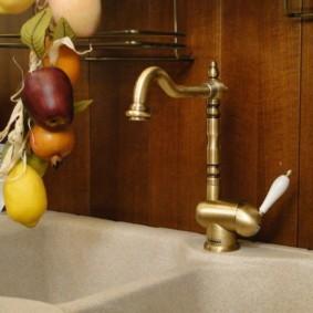 смеситель на кухню фото интерьер