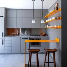 современная кухня фото видов