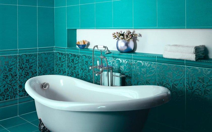 плитка для ванной комнаты декор фото