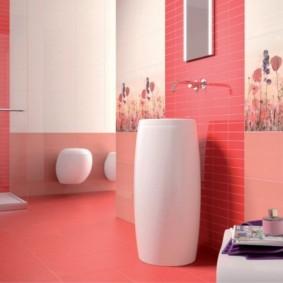плитка для ванной комнаты дизайн интерьера