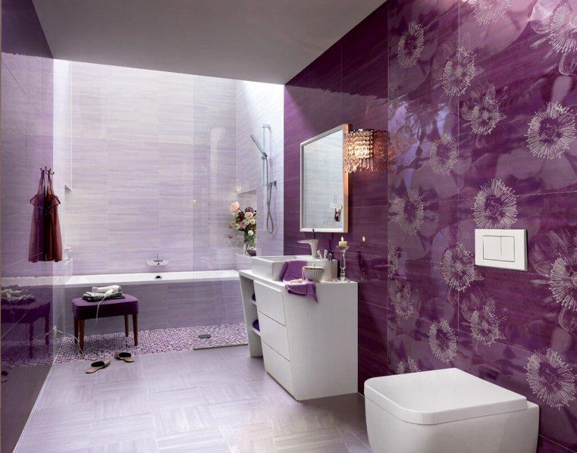 современная плитка для ванной комнаты