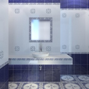 плитка для ванной комнаты идеи декор