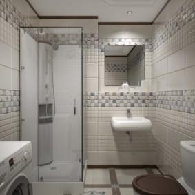 плитка для ванной комнаты идеи дизайн