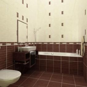 плитка для ванной комнаты интерьер идеи
