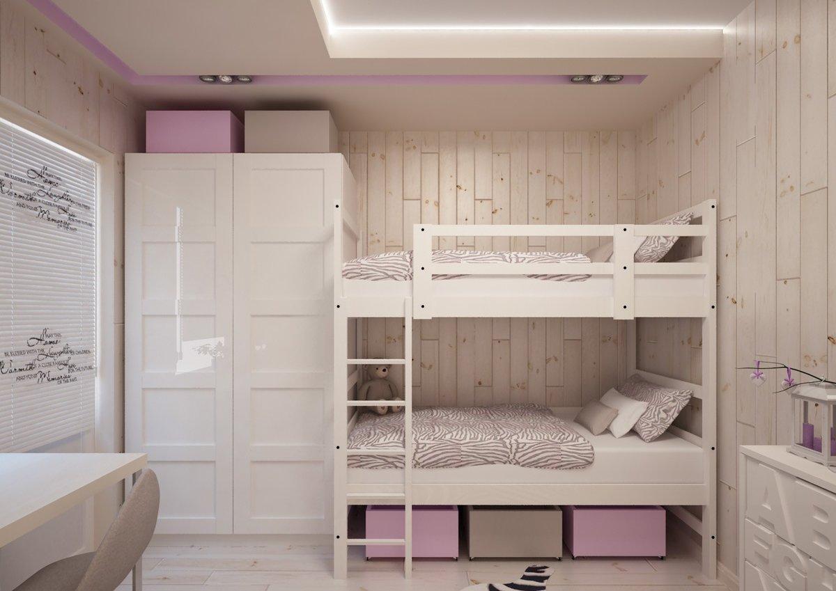 спальня 8 кв м детская
