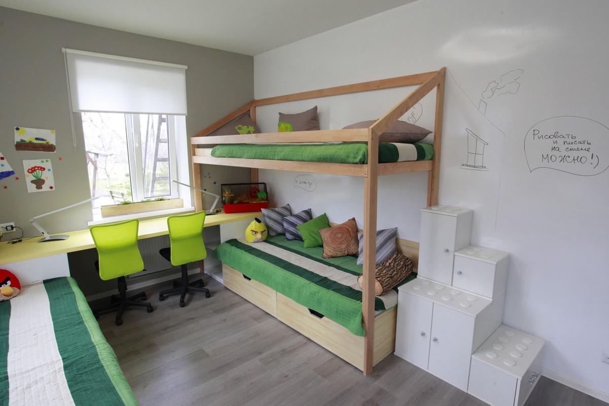 спальня 8 кв м для детей