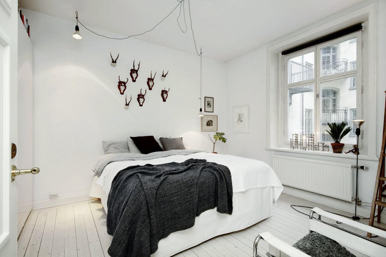 спальня 8 кв м фото дизайн