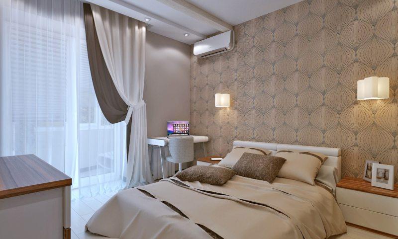 спальня 8 кв м виды фото