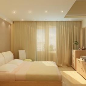спальня 8 кв м виды интерьера