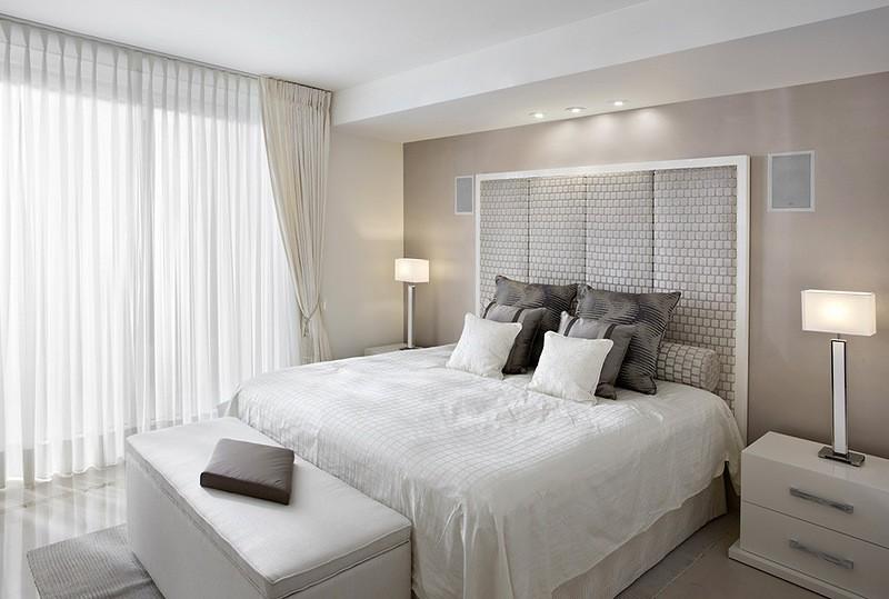 спальня в бежевых тонах дизайн идеи