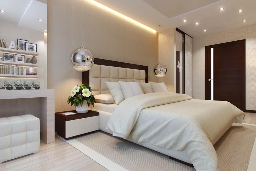 спальня в бежевых тонах идеи декор