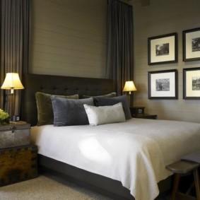 спальня в бежевых тонах виды дизайна