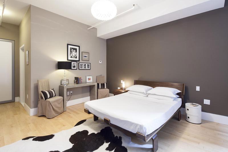 спальня в бежевых тонах виды интерьера