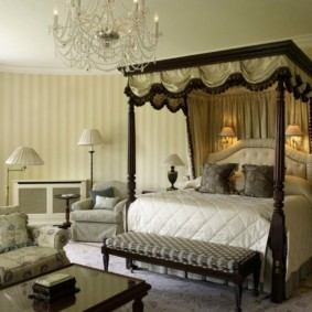 спальня в классическом стиле декор идеи