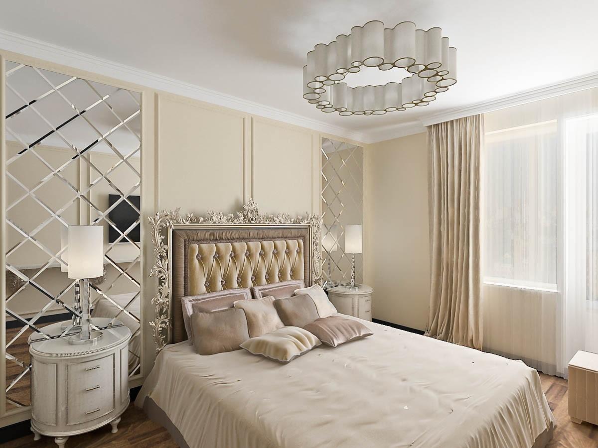спальня в классическом стиле фото декора
