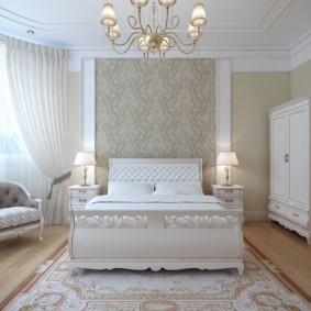 спальня в классическом стиле фото интерьера