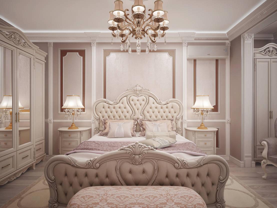 спальня в классическом стиле идеи интерьера