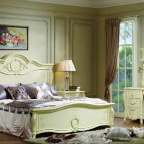 спальня в классическом стиле интерьер фото