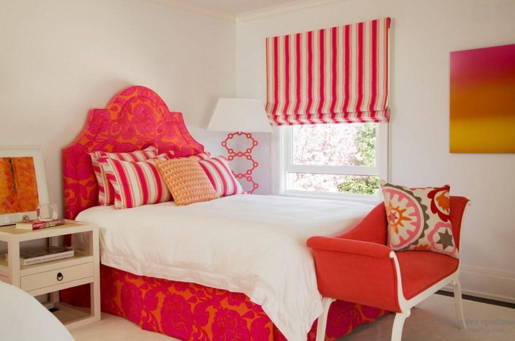 спальня в красных тонах идеи вариантов
