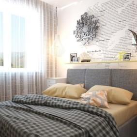 спальня в скандинавском стиле декор идеи