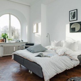 спальня в скандинавском стиле фото дизайн