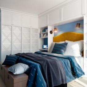 спальня в скандинавском стиле фото интерьера