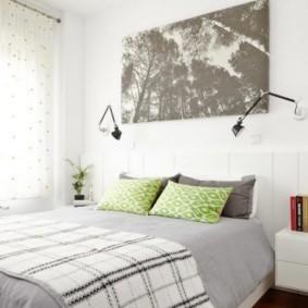 спальня в скандинавском стиле идеи дизайн