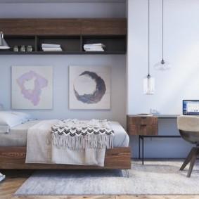 спальня в скандинавском стиле идеи дизайна