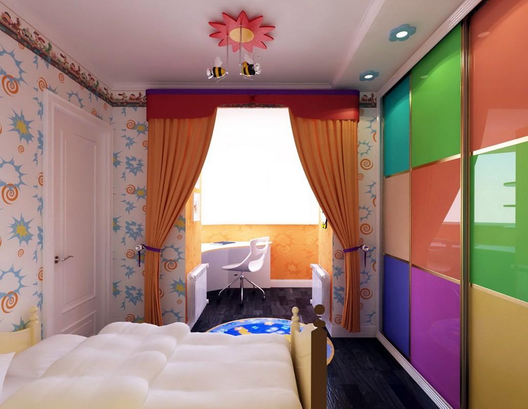 спальня 11 кв метров для детей