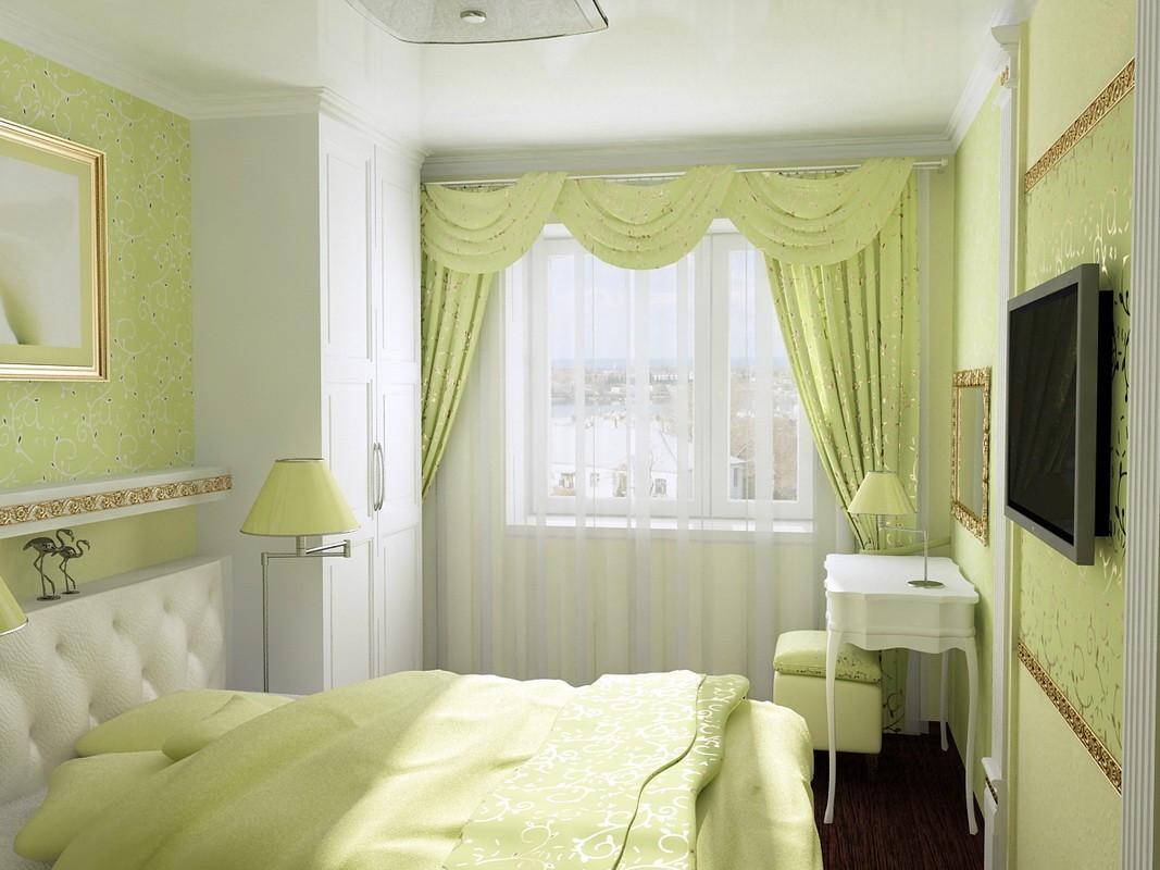 спальня 11 кв метров варианты