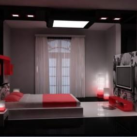 спальня 11 кв м идеи