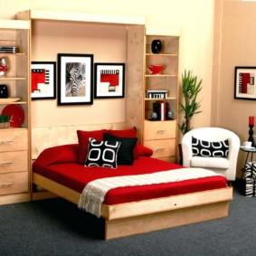 спальня 11 кв м идеи дизайна