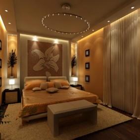 дизайн спальни 12 кв м фото