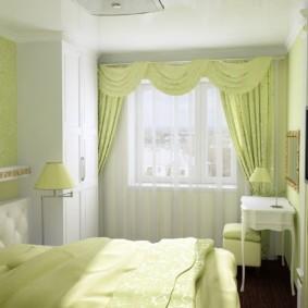 дизайн спальни 12 кв м фото дизайн