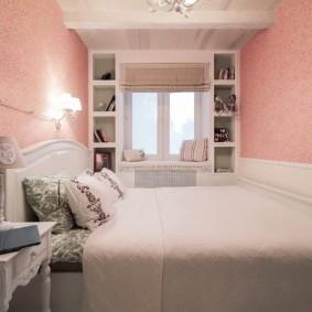дизайн спальни 12 кв м варианты фото
