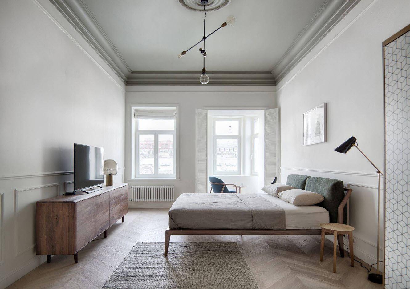 спальня площадью 17 кв м фото дизайн