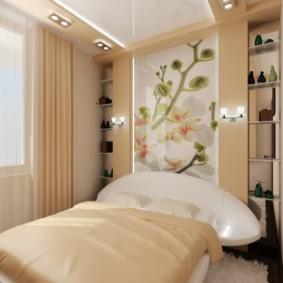 спальня 5 кв м фото