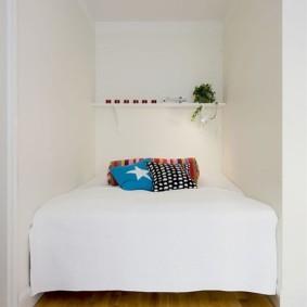 спальня 5 кв м виды дизайна