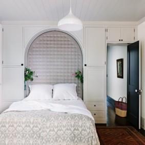 спальня 6 кв м фото дизайн