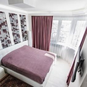 спальня 6 кв м фото идеи