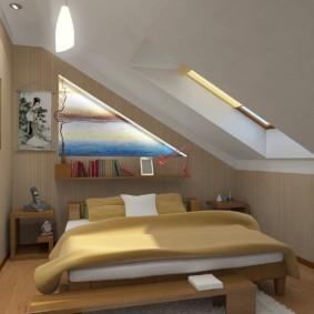 спальня 6 кв м фото оформления