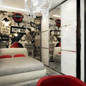 спальня 6 кв м фото варианты