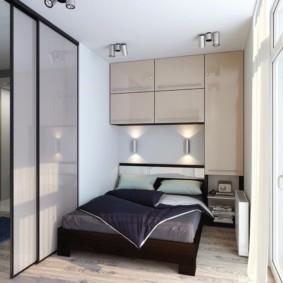 спальня 6 кв м идеи декора