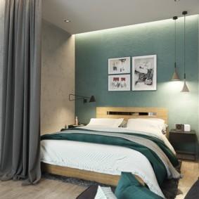 спальня 6 кв м идеи дизайн
