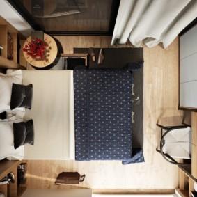 спальня 6 кв м идеи фото