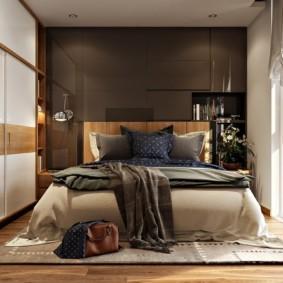 спальня 6 кв м оформление фото