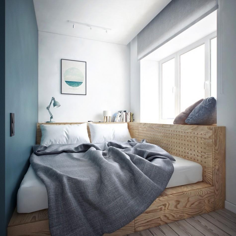 спальня 6 кв м