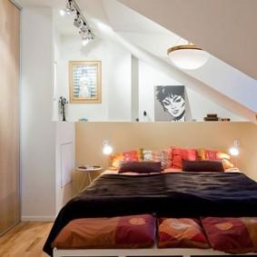 спальня 6 кв м декор фото