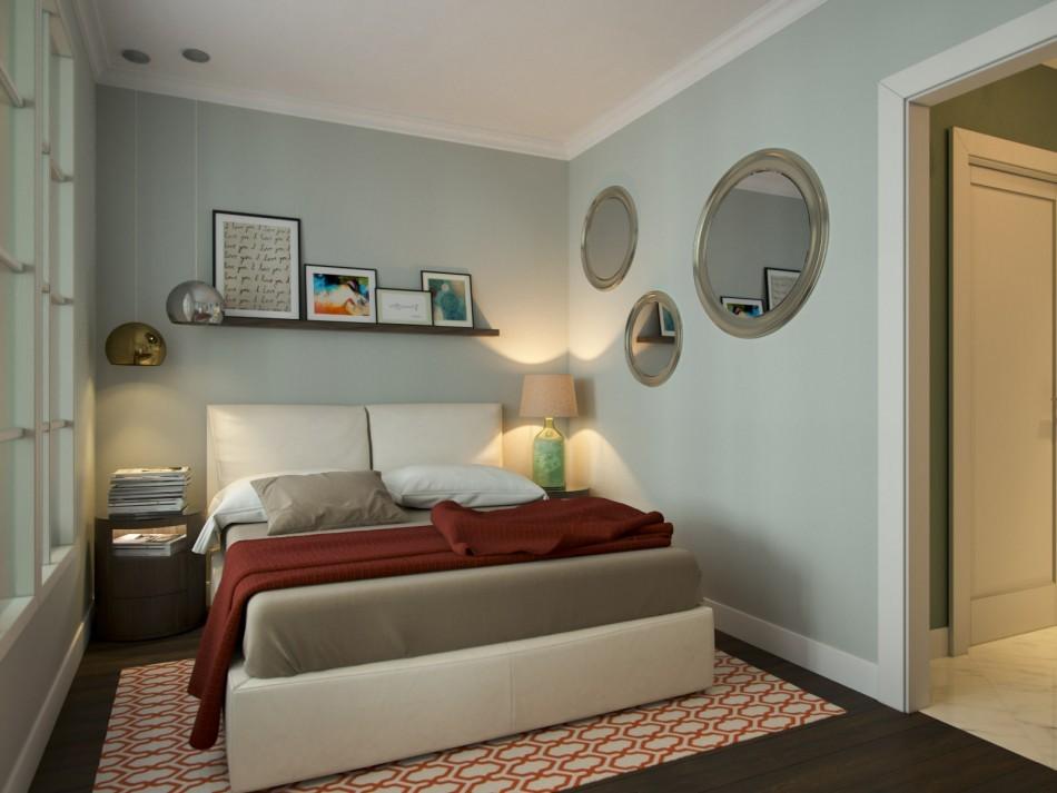 спальня 6 кв м дизайн идеи